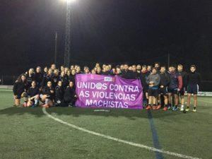 Crónica xornada 07: O fútbol gaélico galego unido contra a violencia machista