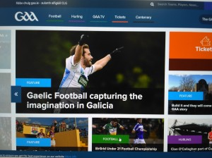Noticia de portada na GAA